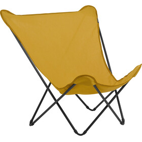 Lafuma Mobilier Pop Up XL Campingstol Airlon + Uni orange/sort
